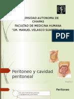 Peritoneo y Cavidad Peritoneal Expo