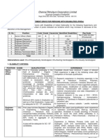 Cpcl-special Recruitment for Pwd2010
