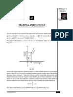 Maxima Minima
