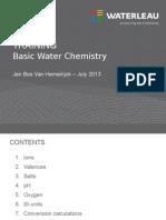 Basic Water Chemistry WPTT