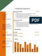 Free Cv Resume Template 04