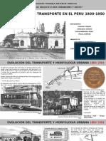 Arquitectura de Transporte en El Peru 1900-1950
