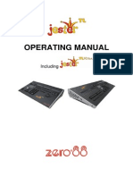 Zero88 Jester TL Manual