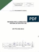 GP-PTX-HSE-056-S Rev Por La Direc Del Sist de Gest HSE Rev 01_090511