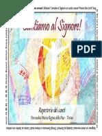 Libretto 'Cantiamo Al Signore'