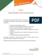 ATPS Metodos Abordagens Ensino Lingua Portuguesa