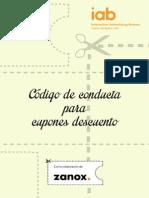 Codigo Conducta Cupones Descuento IAB2013