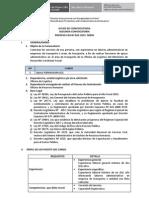 SEGUNDA CONVOCATORIA PROCESO CAS N° 022-2015