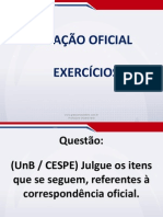 Redacao Oficial Em Exercicios Aula