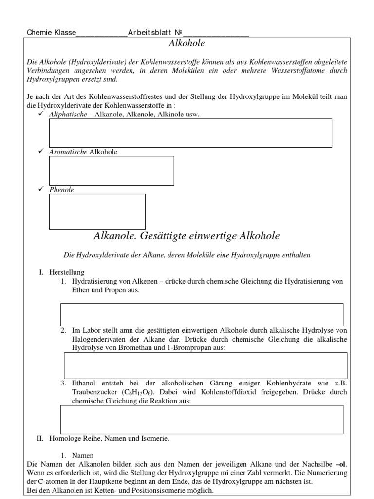 Erfreut Arten Von Reaktionen Chemie Arbeitsblatt Antworten Bilder ...