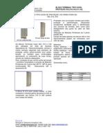 Bloco Terminal Protetor Cook B303, C303, B310, C310, B318, C318