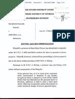 Walker v. Deal et al - Document No. 3