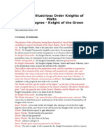 Knight of the Green