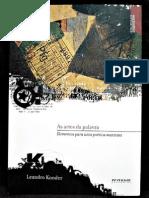 Konder, L. a Arte Das Palavras