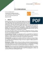 Enterprise 2.0 - Social Software in Unternehmen