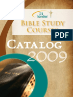 Catalog 2009 - Bible Study Courses