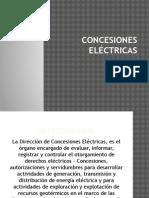 CONCESIONES ELÉCTRICAS