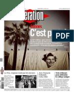 Liberation Du Mercredi 13 Mai 2015