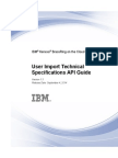 IBM Kenexa BrassRing on Cloud-User Import Technical Specifications API