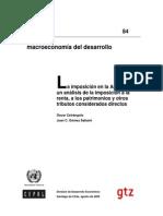 La Imposicion de Tributos en Argentina