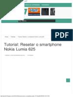 Tutorial_ Resetar o Smartphone Nokia Lumia 625 _ Portal E7