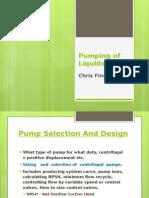 Pumping of Liquids