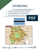 Botswana Country Report