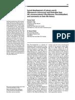 Larval development of estuary perch (Macquaria colonorum) and Australian bass (M. novemaculeata) (Perciformes