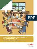 Qué y Cómo Evaluamos La Gestión de La Institución Educativa