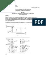 Modèles Physico-chimiques