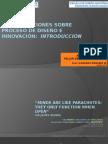 Consideraciones Sobre Proceso de Diseño e Innovacion 1 - D.I. Leonardo Bonomie Medina