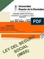 Ley Del Imss y Issste