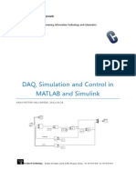 DAQ, Simulation and Control in MATLAB and Simulink