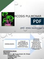 MICOSIS PULMONAR-INFECTOLOGÍA