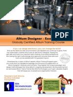 Altium Designer-Essentials Course 2014