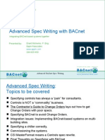 T2S6 - Advanced BACnet Spec Writing