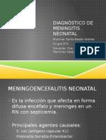 Diagnóstico de Meningitis Neonatal