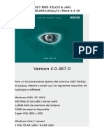ESET NOD 32(4.0.467.0)(x32 & x64)(2000,XP,2003,Vista,7)+TNod-1.4 10