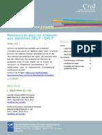 Focus Ressources de Preparation Aux Certifications Delf Dalf