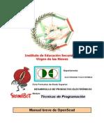 Manual Breve OpenScad