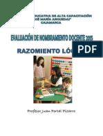 DESARROLLO DE CAPACIDADES LÓGICO MATEMATICAS