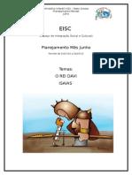 Planejamento  Julho/2015 Escolinha IIGD MT