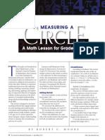 Mesuring a Circle