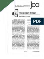 The Golden Divider