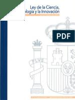 Ley de La Ciencia ESPAÑA