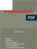 Hypersensitivity types