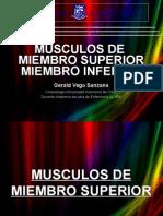 Músculos de Miembro Superior e Inferior
