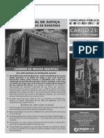 Cespe 2012 Tj Ro Tecnico Judiciario Prova