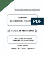 Ingles Tecnico Para Electricista Industrial