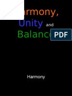 4art first grading - lesson 4 - harmony unity and balance